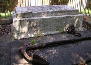 La tomba comune per le vittime del naufradio della Dunbar