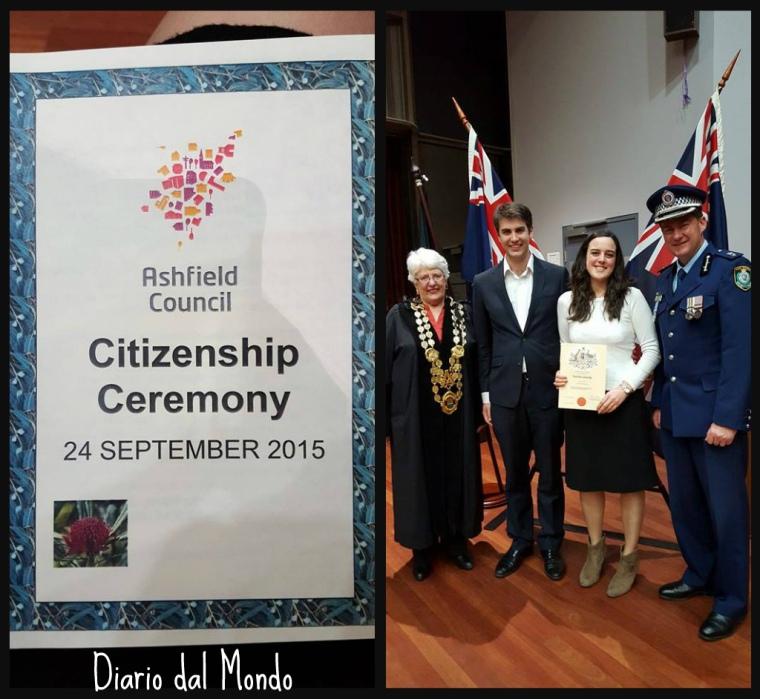 Citizenship ceremony