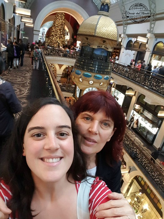 Cla & mum at QVB